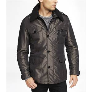 MILITARY JACKET Silver