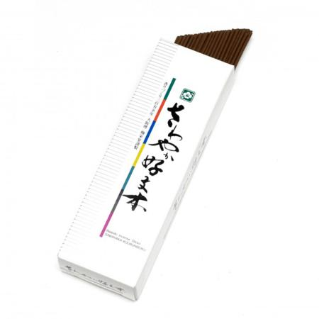 Japanese Incense Sticks | Baieido | Sawayaka Kobunboku | 90 stick box