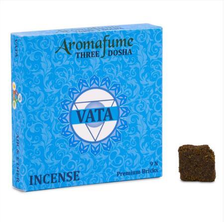 Aromafume Incense Bricks   Vata Dosha   9 brick pack