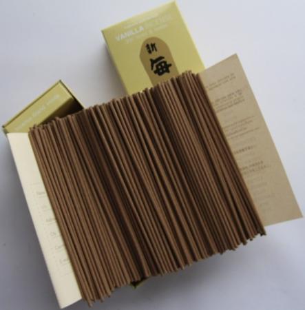 Morning Star Vanilla Incense | Box of 200 sticks & holder by Nippon Kodo