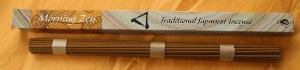 Japanese Incense | Shoyeido | Zen Morning | Long Stick Incense