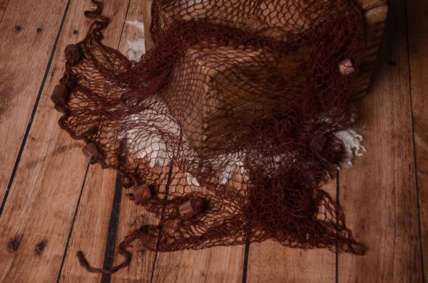 Fischernetz - braun