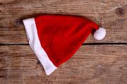 Weihnachtsmannmütze für Newborn