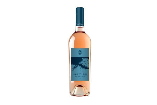 Organic - Sormiou - Vin rosé biologique 2018 - Carton de 6