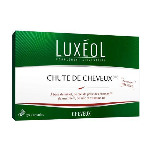 Capsules Chute de Cheveux 30 Jours Luxéol