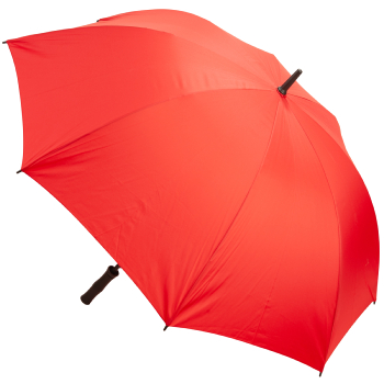 Premium Fibreglass Golf Umbrella - Red